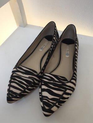 Ballerinas spitz Zebra