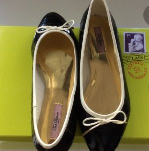 Ballerinas Ted Baker, Lackleder