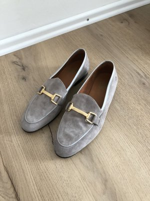 Apple of eden Mocassins beige-gris