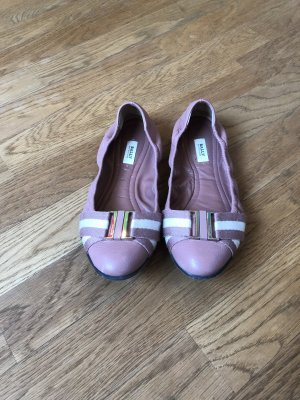 Bally Foldable Ballet Flats light pink