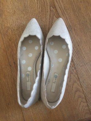 Ballerinas von Boden, Beige Metallic. 38, kaum getragen