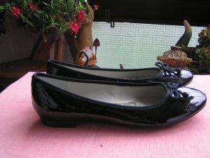 Ballerinas von Clarks, schwarz, Größe 41 ( Größe 7)