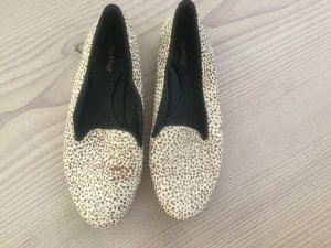 Ballerinas von Flip Flop Fell Animal Leo Muster Gr. 40 Blogger Punkte Dots