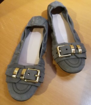 Kennel und Schmenger Foldable Ballet Flats grey-green grey leather