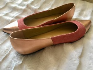 Liebeskind Berlin Ballerinas with Toecap rose-gold-coloured-salmon leather