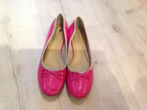 Tamaris Ballerinas raspberry-red leather