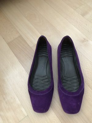 unnützer Ballerines violet
