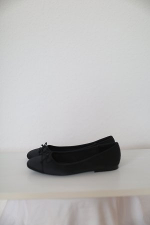 Zara Mary Jane Ballerinas black