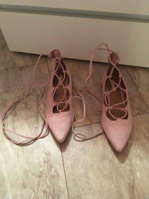 Ballerinas zum schnüren