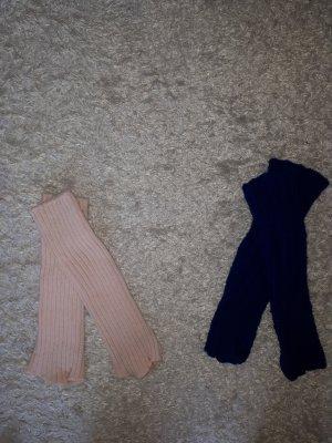 Legwarmers pink-blue