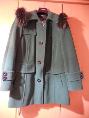 Giacca di lana verde bosco Cachemire