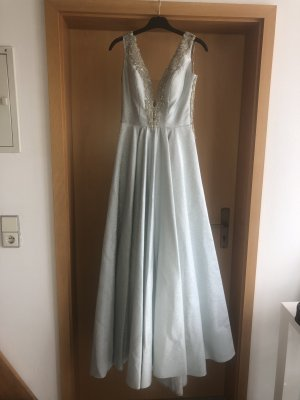 Ball Dress silver-colored-light grey