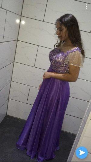 Abito da ballo lilla-lilla