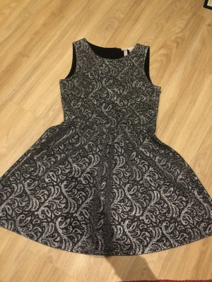 H&M Ball Dress silver-colored