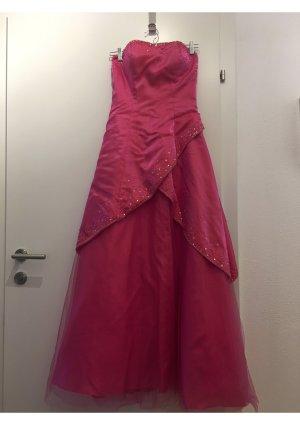 Abito da ballo rosa-rosa