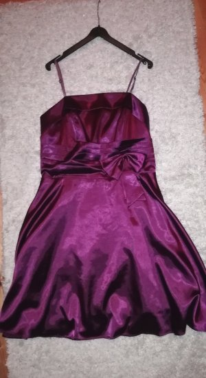 Ball Dress blackberry-red-brown violet