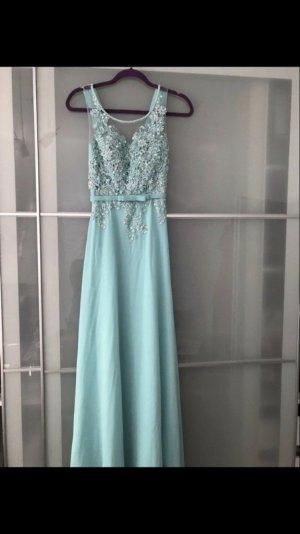 Ballkleid Abendkleid Abiballkleid Tiffany blau Hochzeit