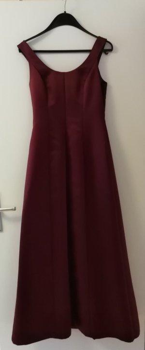 Ballkleid/Abendkleid/Abiballkleid von zero * Bordeux rot * Größe 38