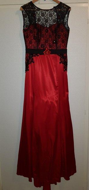 Ballkleid/ Abendkleid / Abiye in rot Gr.38