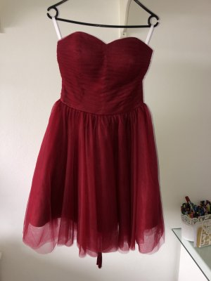 Ball Dress dark red