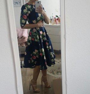 Ballkleid Abendkleid Etuikleid Vintage Blumen