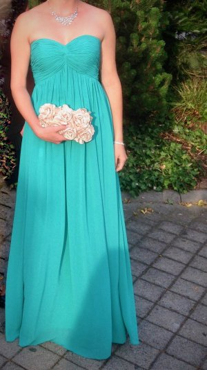 Laona Ball Dress turquoise polyester