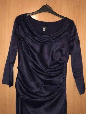 Ballkleid Abendkleid Mariposa dunkel blau Gr. 40