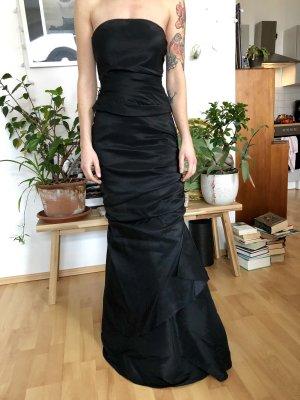 Ballkleid Abendkleid schwarz Gr XS / S