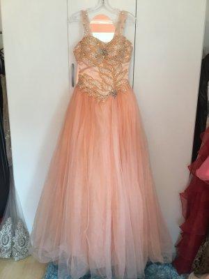 Ball Dress pink mixture fibre