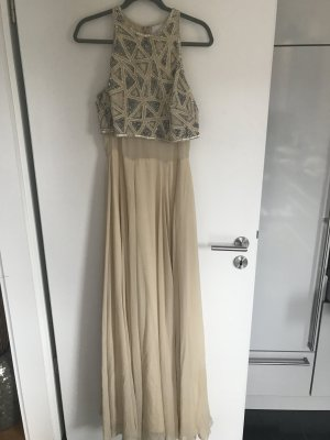 Ballkleid / Abikleid Asos Tall in beige, 38-40