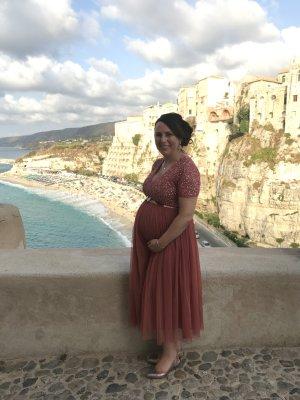 Ballkleid/Brautjungfernkleid für Schwangere