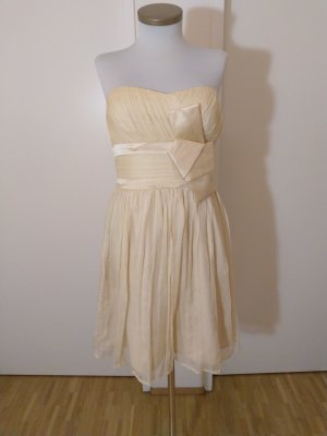 Mango Ball Dress cream-nude