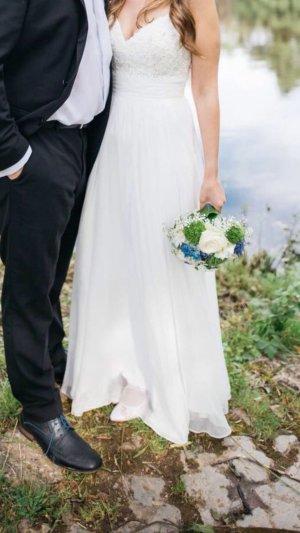 Ballkleid, Brautkleid ivory von Luxuar