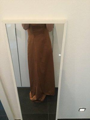 Ballkleid Bronze Size 10 entspricht 38/ 40 zum Schnüren, Abendkleid Brautjungfer