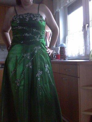 ballkleid dunkelgrün