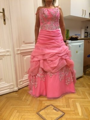 Ball Dress pink silk
