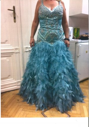 Ball Dress azure