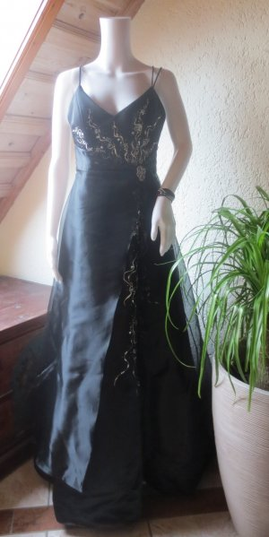 Ball Dress black-silver-colored
