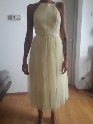 Asos Tall Sheath Dress neon yellow