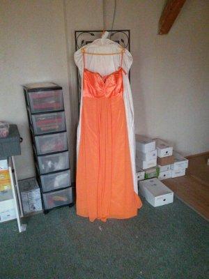 ballkleid gr. 44 orange