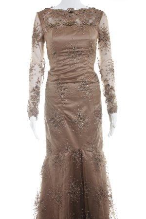Ballkleid hellbraun-bronzefarben Elegant