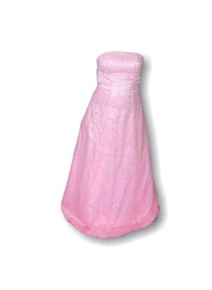 Ballkleid, Hochzeitskleid,Festkleid,Zierkristalle,Unterrock,rosa,Größe 34!