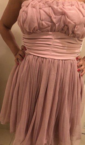 Vestido de baile rosa