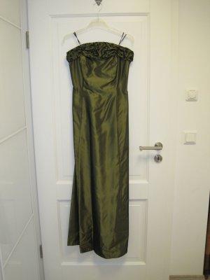 Ballkleid, metallisch grün, Gr. 40, nur einmal getragen