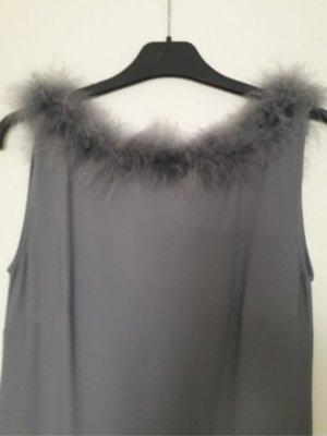 H&M Abito da ballo grigio chiaro