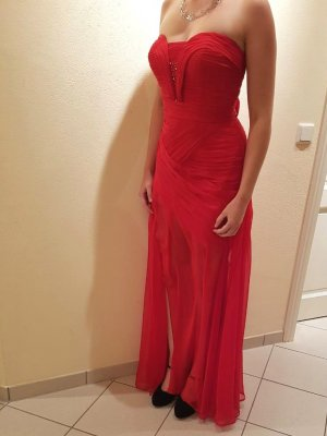 Ballkleid mit transpartem Rock