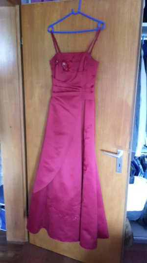 Ballkleid rot A-line