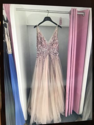 Ball Dress rose-gold-coloured
