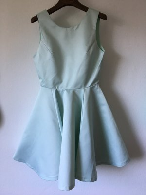 Ballkleid Skaterkleid ausgestelltes Kleid hell Türkis M