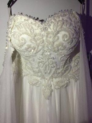 Ball Dress white